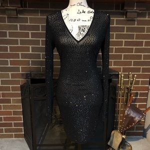 Fashion Nova Rhinestone Dress